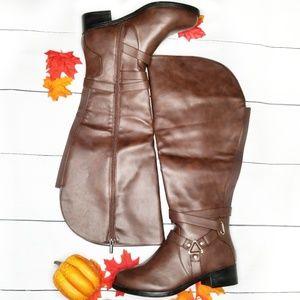Torrid Over-the-Knee Harness Boots Wide Width&Calf